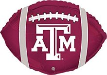 "18"" Texas A&M Aggies Football Foil Balloon"